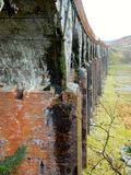 La grande eau du viaduc de flotte, Galloway Images stock
