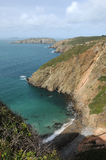 La Grande Greve bay on Sark Royalty Free Stock Photos