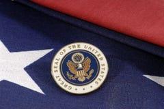 La grande guarnizione degli S.U.A. Fotografie Stock Libere da Diritti