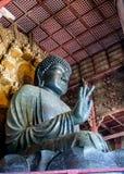 La grande immagine di Buddha, Nara, Giappone 1 Fotografia Stock Libera da Diritti