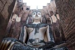 La grande immagine di Buddha, in tempiale di amico di Sri Fotografia Stock Libera da Diritti