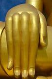 La grande mano di Buddha Fotografia Stock
