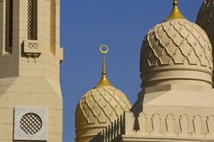 La grande moschea del jumeirah in Doubai Fotografie Stock