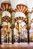La grande moschea di Cordova Immagine Stock Libera da Diritti