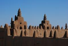 Grande moschea di Djenne, Mali, Africa fotografie stock libere da diritti
