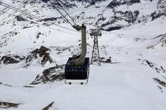 La Grande Motte, Winter ski resort of Tignes-Val d Isere, France Stock Images