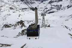 La Grande Motte, Winter ski resort of Tignes-Val d Isere, France Stock Image