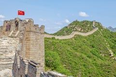 La Grande Muraglia fotografia stock