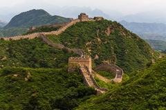 La grande muraglia Fotografia Stock Libera da Diritti