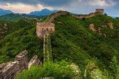 La grande muraglia Immagini Stock Libere da Diritti