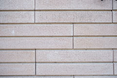 La grande muraglia del mattone bianco Immagini Stock Libere da Diritti