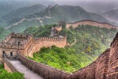 La Grande Muraglia della Cina immagini stock