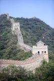 La grande muraglia della Cina a Mutianyu Fotografie Stock Libere da Diritti