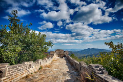 La grande muraglia della Cina, Pechino Fotografia Stock Libera da Diritti