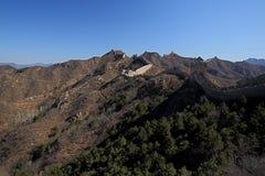 Grande muraglia della valle di Mutian della Cina Fotografie Stock