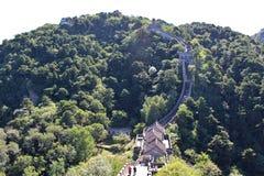 La Grande Muraglia a Mutianyu Fotografie Stock