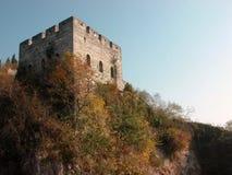 La Grande Muraglia situata a zhejiang della Cina Fotografie Stock