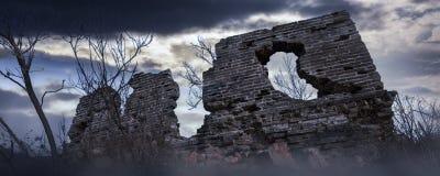 La Grande Muraille antique photo libre de droits