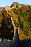 La Grande Muraille chez Huangyaguan images libres de droits