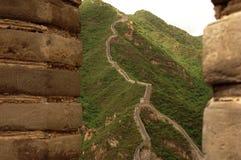 La Grande Muraille de la Chine Images stock