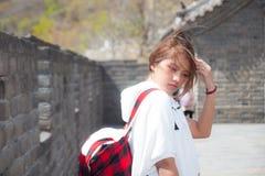 La Grande Muraille de Mutianyu dans Pékin, Chine images libres de droits