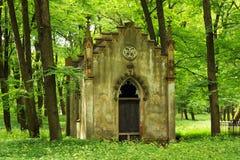 La grande nécropole de cimetière à Riga, Lettonie photographie stock