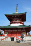 La grande pagoda di pace, Narita fotografie stock