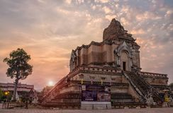 La grande pagoda en Thaïlande Photo libre de droits