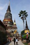 La grande pagoda in Tailandia Immagine Stock Libera da Diritti