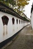 La grande parete del giardino di vista Fotografia Stock
