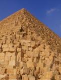 La grande piramide Fotografia Stock Libera da Diritti