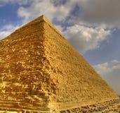 La grande piramide Fotografie Stock