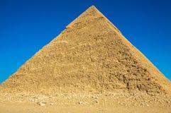 La grande piramide di Giza Fotografie Stock