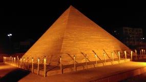 La grande piramide di Giza Immagini Stock