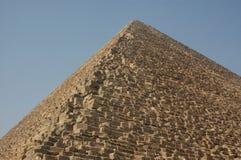 La grande piramide di Giza Egitto Fotografie Stock