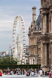 La Grande Roue de Paris France Royalty Free Stock Photo
