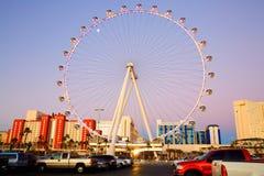 La grande roue, Las Vegas Photographie stock