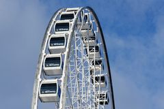 La Grande Roue in Montreal stock photography