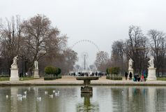 La Grande Roue, Paris, France Royalty Free Stock Photography