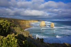 La grande route d'océan, douze apôtres, Australie Photographie stock libre de droits