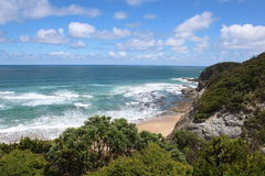 La grande route d'océan, Victoria Images libres de droits