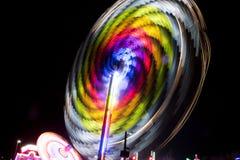 La grande ruota Fotografia Stock