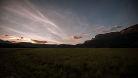 La grande savane, Venezuela photos stock