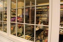 La grande stanza che descrivono l'emporio di paese tipico dalla mostra di passato, il museo e la scienza concentrano, Rochester,  Fotografia Stock