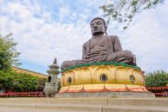 La grande statua buddista a changhua, Taiwan Fotografie Stock Libere da Diritti