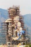 La grande statua di Buddha è in costruzione Fotografia Stock Libera da Diritti