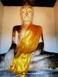 La grande statua di Buddha Fotografia Stock