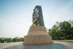 La grande statua di Buddha al ito di khao, Fotografia Stock