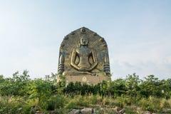La grande statua di Buddha al ito di khao, Fotografia Stock Libera da Diritti