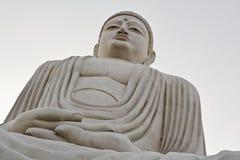 La grande statua di Buddha, tempio buddista di Daijokyo, Bodhgaya, India Fotografia Stock